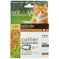 Collier antiparasitaire chat