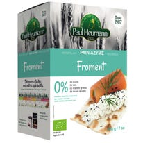 Pain azyme froment 200g