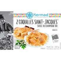Coquille St Jacques champagne (2) 220g
