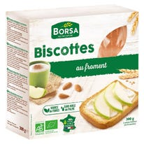 Biscottes blanches froment 300g