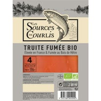Truite fumée - 4 tranches 120g