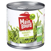 Haricots verts extra fins 220g