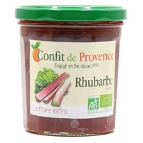 Confiture extra rhubarbe 370g