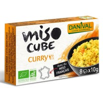 Miso cube curry doux (8) 80g