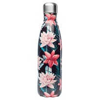 Bouteille iso inox Tropical noire 500ml