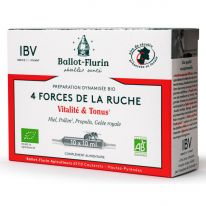 4 Forces de la Ruche -10 ampoules x10ml