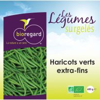 Haricots verts extra fins 600g