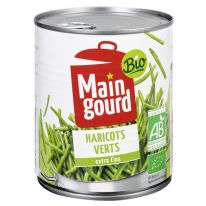 Haricots verts extra fins 440g