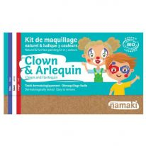 Kit maquillage enfant Clown&Arlequin