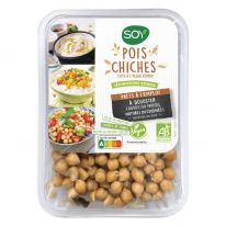 Pois chiches cuits à l'algue kombu 220g