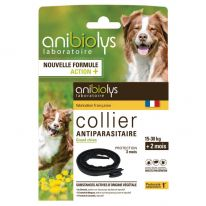Collier antiparasitaire grand chien