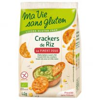 Cracker riz piment doux