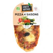 Pizza 4 saisons 150g