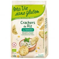 Cracker riz romarin
