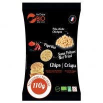 Chips pois chiche paprika ss friture110g