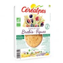 Galette fromage brebis & figues 2x90g