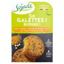 So galette soja lentille curry