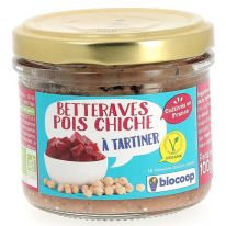 Tartinable betterave pois chiche