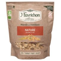 Muesli croustillant nature avoine & riz