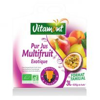 Jus multifruits exotique 3L