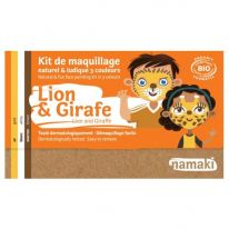 Kit maquillage enfant Lion&Girafe