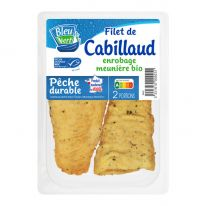Cabillaud filets meunière (2) 200g